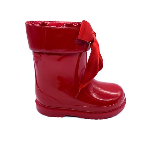 Stivali gomma rossi bambina IGOR