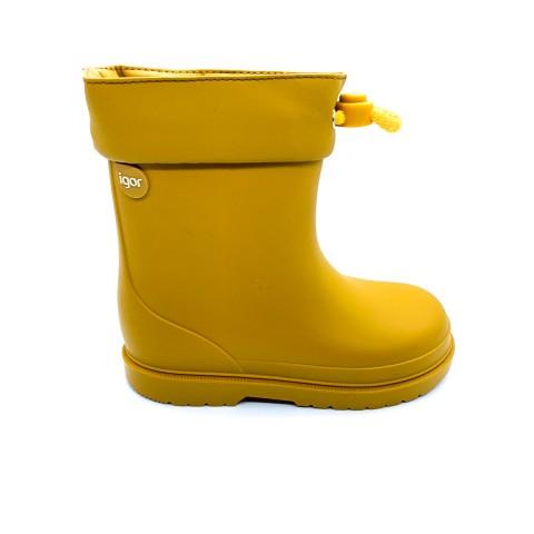 Stivali da pioggia gialli bambino IGOR