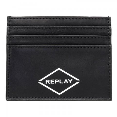 Porta carte in pelle Replay
