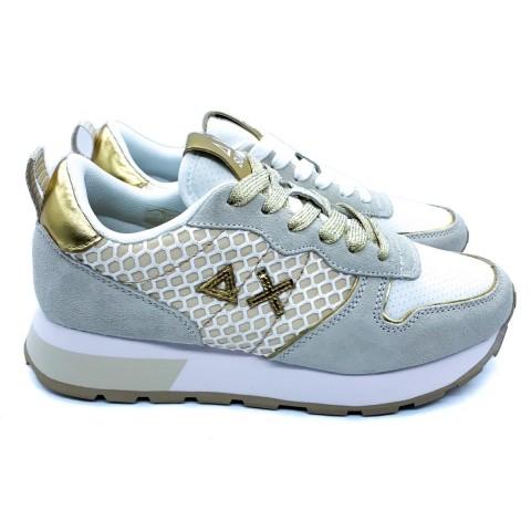 Sneaker donna avorio SUN 68
