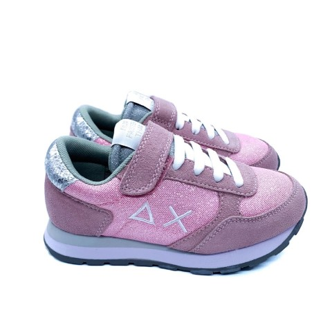 Sneaker bambina rosa SUN 68