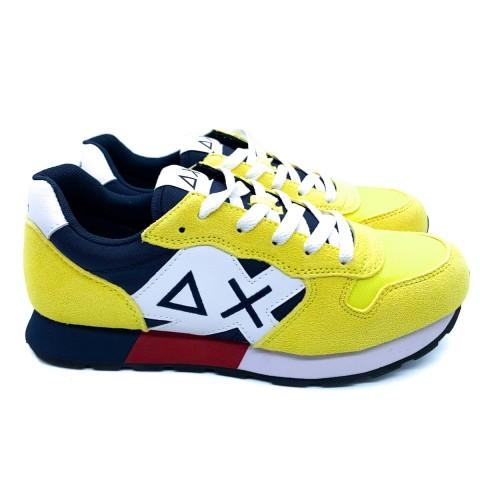 Sneaker bambino gialla SUN 68