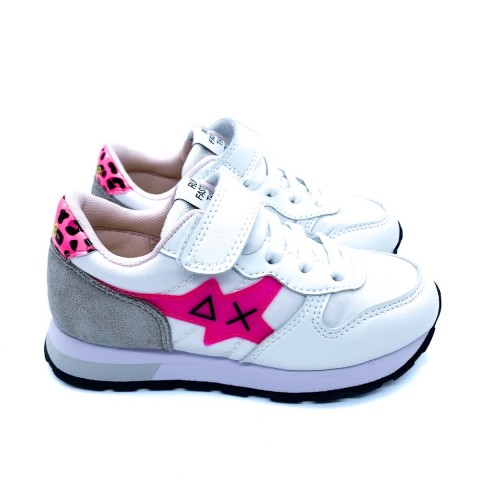 Sneaker bambina bianca SUN 68