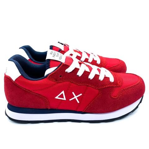 Sneaker bambino/a rossa SUN 68