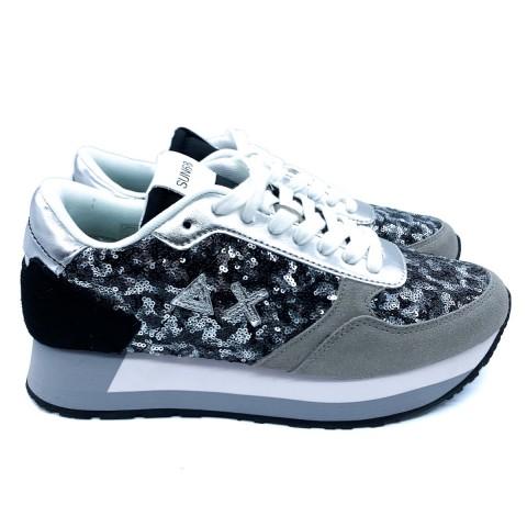 Sneaker donna grigio Sun 68
