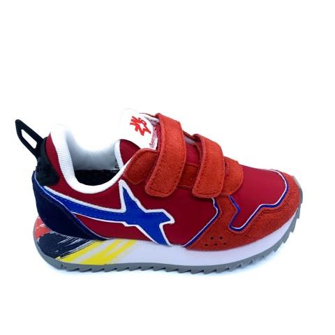 Sneaker bambino rossa W6YZ