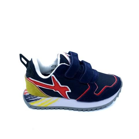 Sneaker bambino blu W6YZ