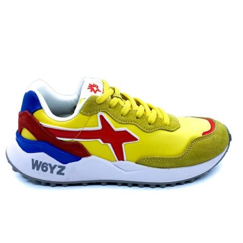 Sneaker unisex gialla W6YZ