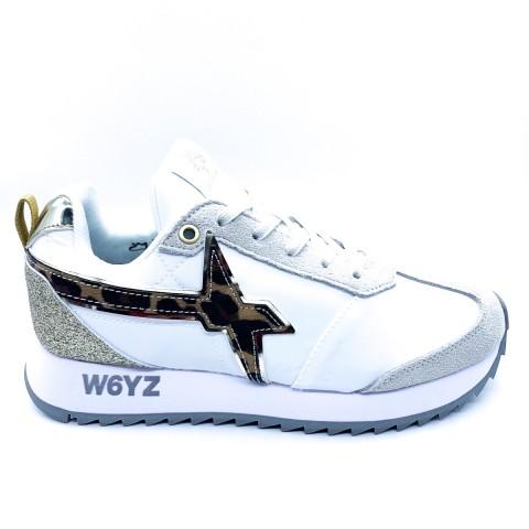 Sneaker bianca donna W6YZ