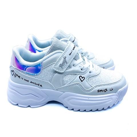 Sneakers bambina bianca Primigi