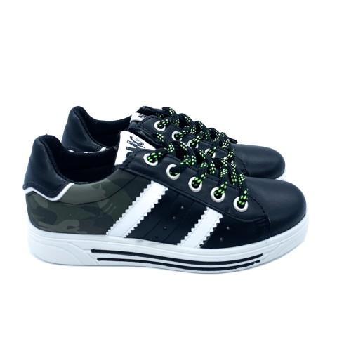 Sneaker nera bambino Primigi