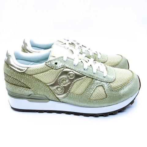 Sneaker bambina oro Saucony