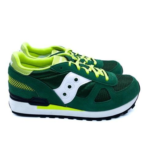 Sneaker bambino verde Saucony