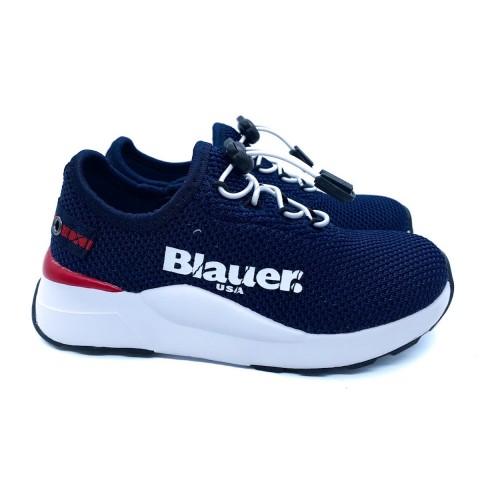 Sneaker bambino blu Blauer