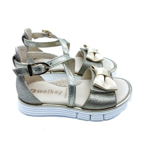 Sandalo oro bimba Walkey