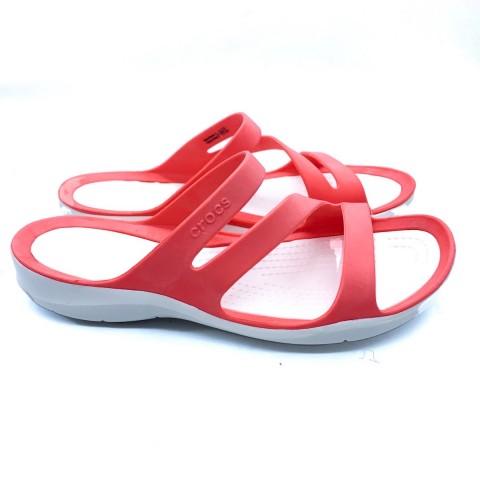 Crocs donna corallo sandalo