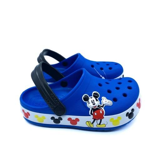 Crocs bambino blu Disney Mickey Mouse Band