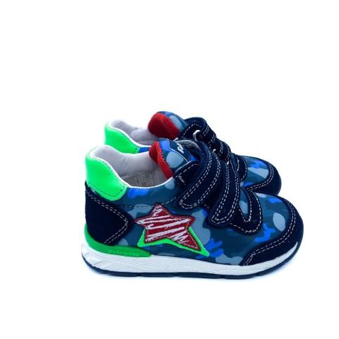Sneaker bambino blu Falcotto