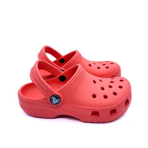 Crocs bambino corallo classic