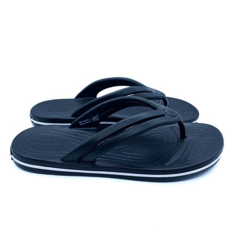 Infradito nero Crocband flip donna Crocs