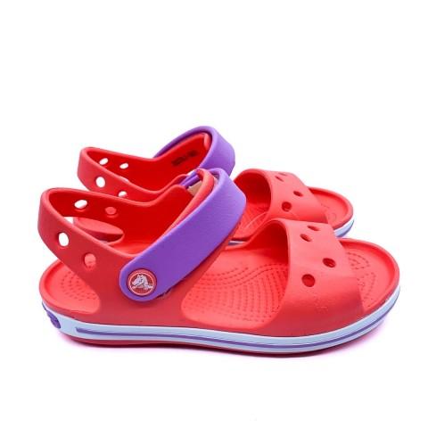 Crocs bambina corallo sandalo