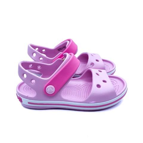 Crocs bambina rosa sandalo