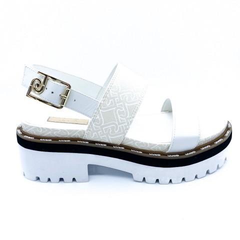 Sandali bianchi donna Liu-jo con suola track