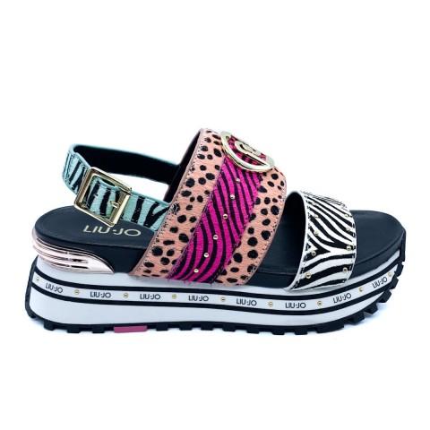 Sandali maculati donna Liu-jo