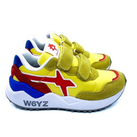 Sneaker bambino W6YZ gialla