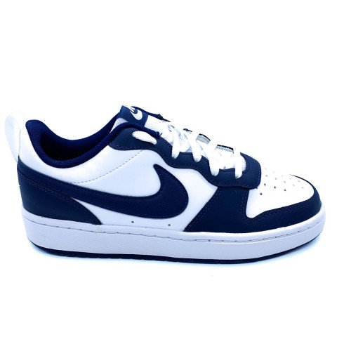 Nike unisex court low 2 bianca blu