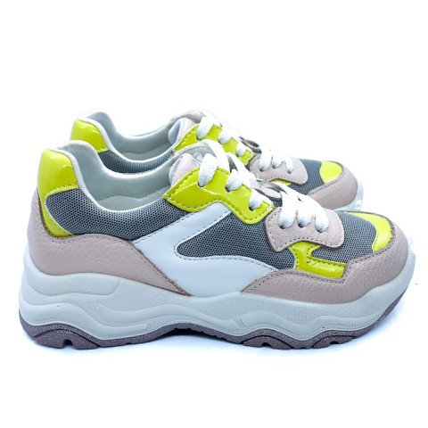 Sneakers rosa cipria bambina Primigi