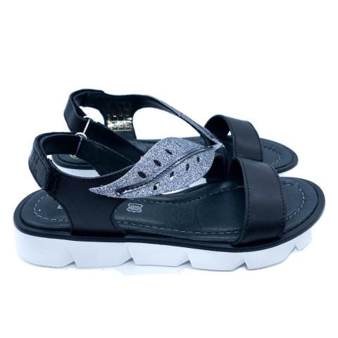 Sandalo girl Primigi nero
