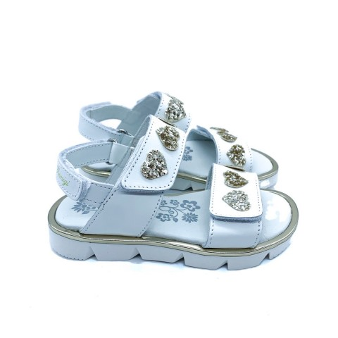 Sandalo bambina Primigi bianco