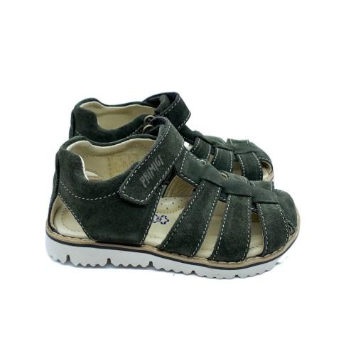 Sandalo semi chiuso verde bambino Primigi