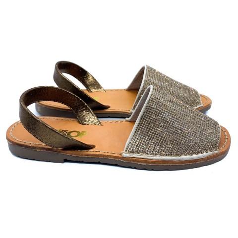 Sandalo minorca bronzo donna Colors of California