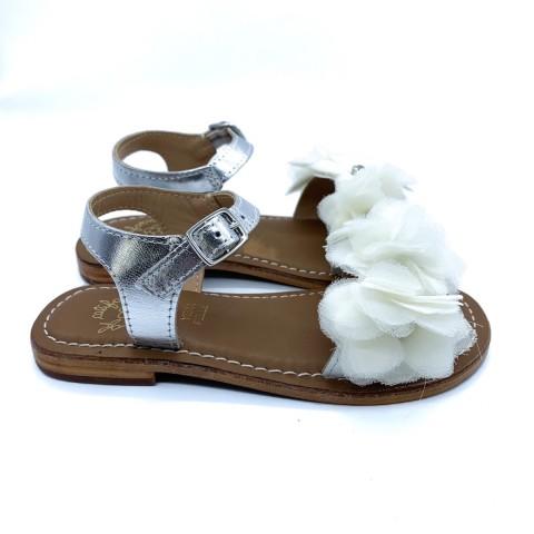 Sandalo bianco bimba COLORS OF CALIFORNIA