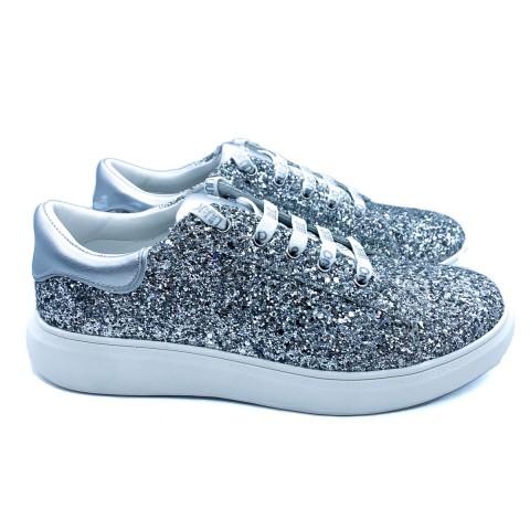 Sneakers donna Liu-jo argento