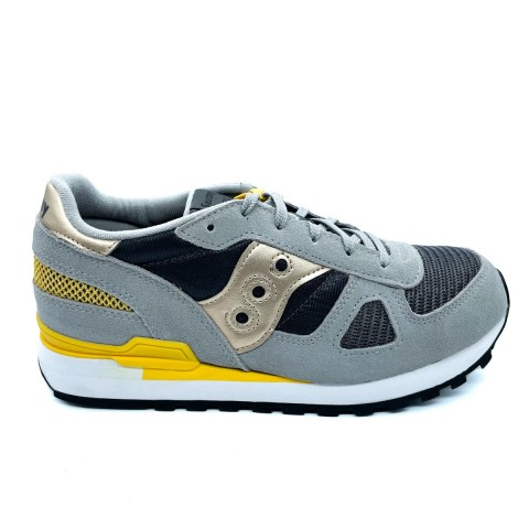 Sneaker grigia ragazzo Saucony O' shadow