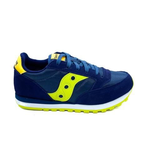 Sneaker blu ragazzo/a Saucony O' jazz