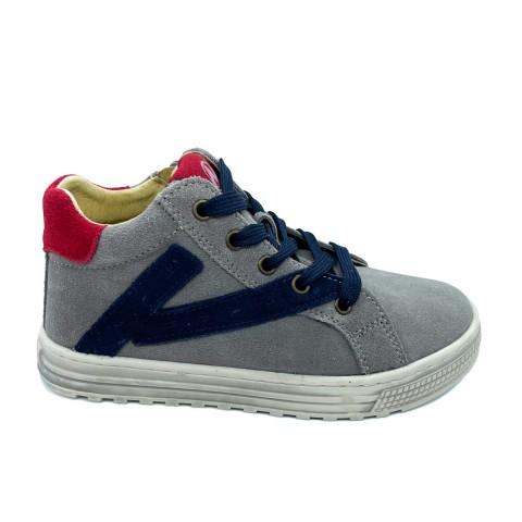 Sneaker alta grigia bambino Naturino