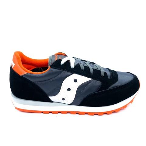 Sneaker nera ragazzo/a Saucony O' jazz