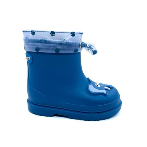 Stivale da pioggia azzurro bambino IGOR