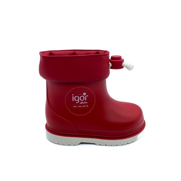 Stivale da pioggia rosso bambino IGOR