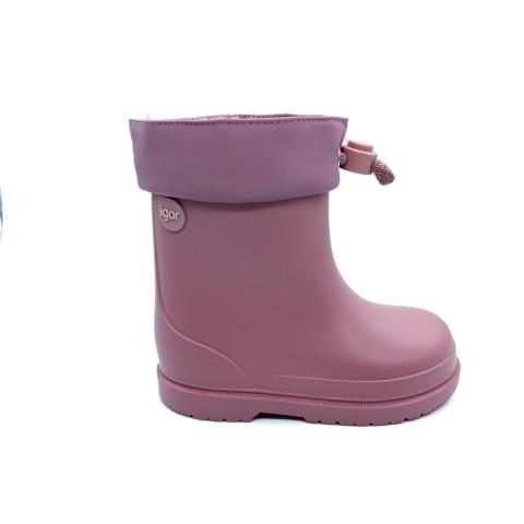 Stivale da pioggia rosa bambina IGOR