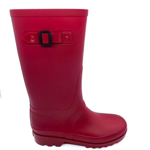 Stivale da pioggia rosso unisex IGOR