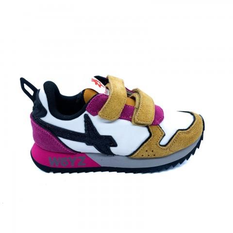 Sneaker bambina con velcri W6YZ